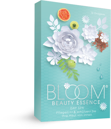 Gesunde Haut mit BLOOM BEAUTY ESSENCE® Day Spa